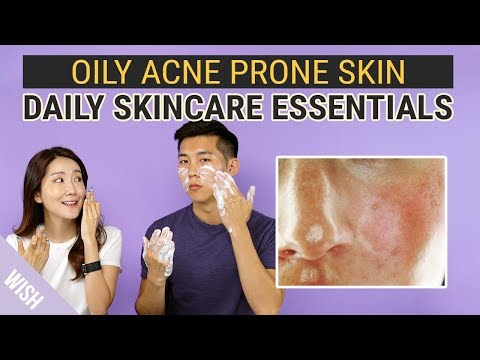 Best Daily Skincare Essentials for Oily Acne Prone Skin | Wish,Try,Love