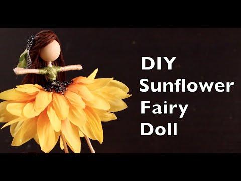 DIY Sunflower Fairy Doll | How To Make A Fairy Doll Tutorial