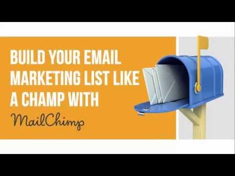MailChimp Email Marketing Course: Build Your Email Marketing List With MailChimp - Udemy Course