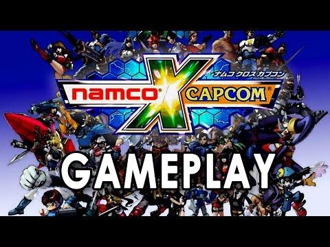 Namco X Capcom [Gameplay] [English] [PCSX2]