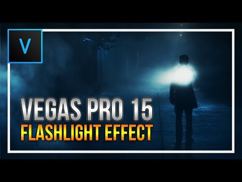 How To: Create a Flashlight Effect in Vegas Pro 15