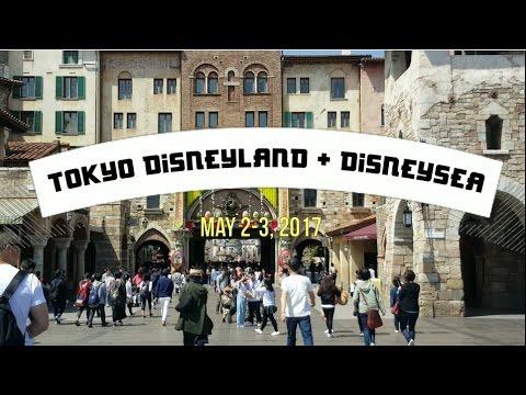 Tokyo Disneyland + Disneysea 2017   JAPAN TRAVEL DIARY #4