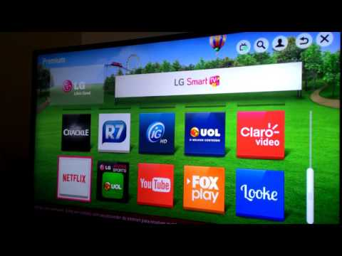 Resolvendo problemas de relogin da netflix na smart TV LG