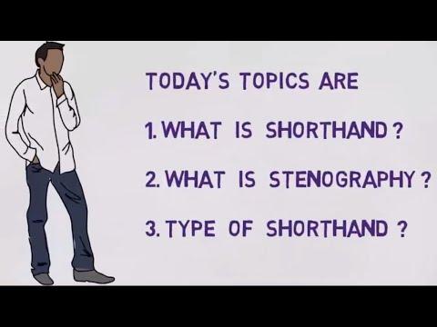 Shorthand What is Shorthand    Shorthand typing    Steno Skill test    Stenography skill test