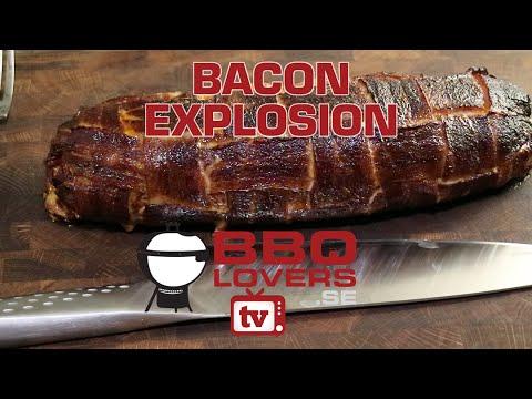 Bacon Explosion - Fatty - BBQloversTV