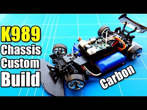 Wltoys K989 1 28 Rc Drift Project EP16 Build Custom Carbon Chassis Homemade Rc Car