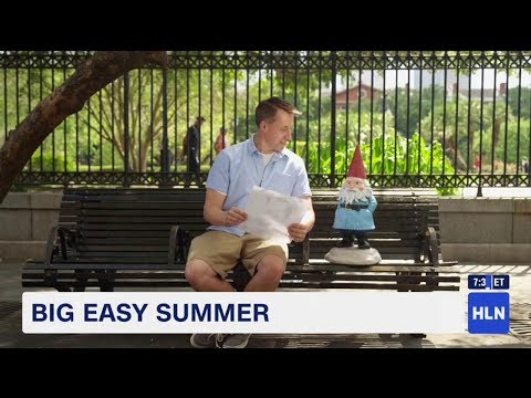 Big Easy Summer: New Orleans with Bob Van Dillen & the Roaming Gnome
