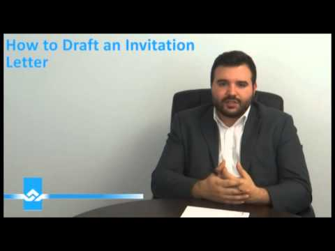 How to Draft an Invitation Letter for Visitor Visa