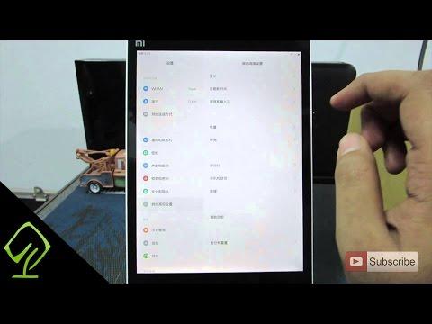 How to change Language to english on Xiaomi MIPAD  (MI PAD) MIUI