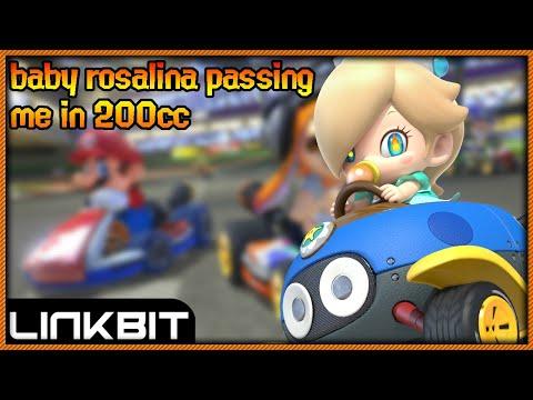Baby Rosalina passing me in 200cc!