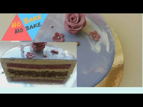 white chocolate mousse cake recipe/ step by step