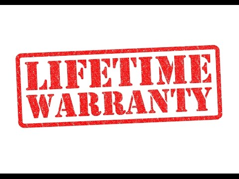 Products with Lifetime Warranty