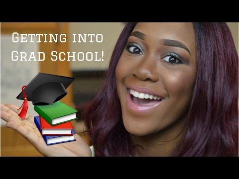 Getting into Graduate School! | My Journey & Personal Advice | SamariSafari ♥