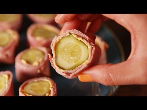 Pickle Roll-Ups | Delish