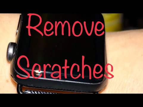 How To Remove Scratches n Scuffs from Apple Watch Screen Really Works