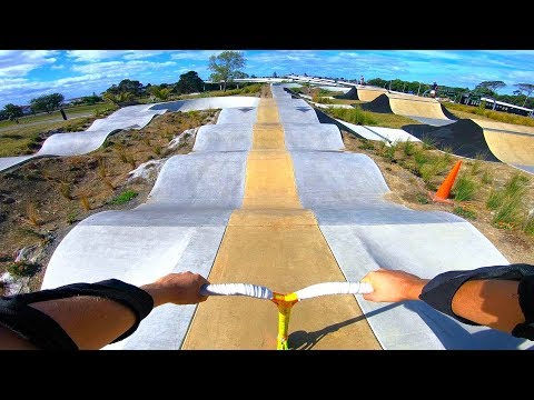 TESTING THE ENDLESS PUMP TRACK IN NEW ZEALAND!