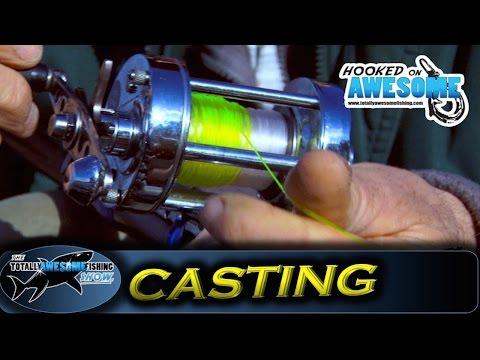 How to cast a fishing reel for beginners (Multiplier Reel) - TAFishing