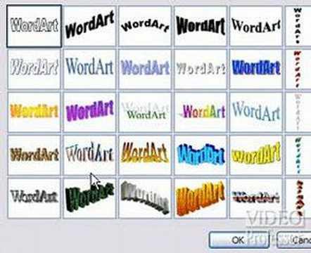 Video Professor: Word Art in Microsoft® Word