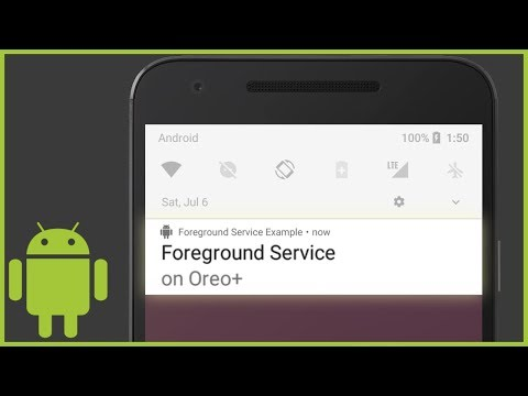 How to Start a Foreground Service in Android (With Notification Channels)