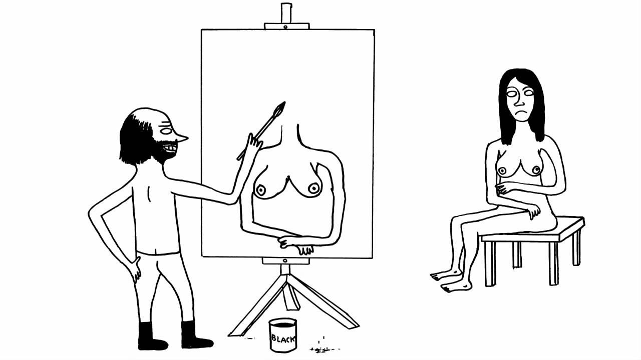 DAVID SHRIGLEY 'THE ARTIST' (2012)