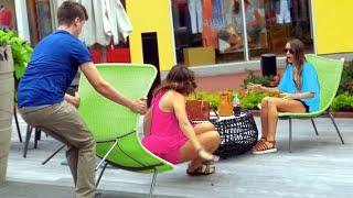 Chair Pulling Prank