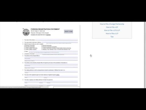 How to Start a Partnership (LP,LLP,LLLP,GP) in Idaho | ID Secretary of State