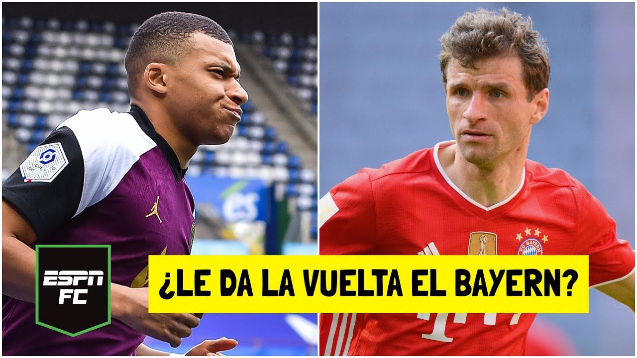 PSG VS BAYERN MUNICH. ¿Podrán remontar los alemanes sin Robert Lewandowski en París? | ESPN FC
