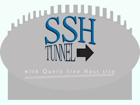 SSH Tutorial - Secure Shell Tunneling using SSH Tunnel Manager ( PuTTY ) and Query tool/application