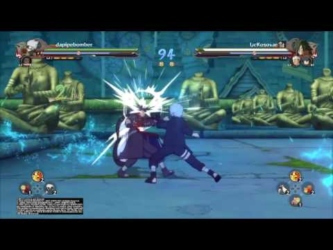 Naruto Ninja Storm 4   Online Team Battle #5
