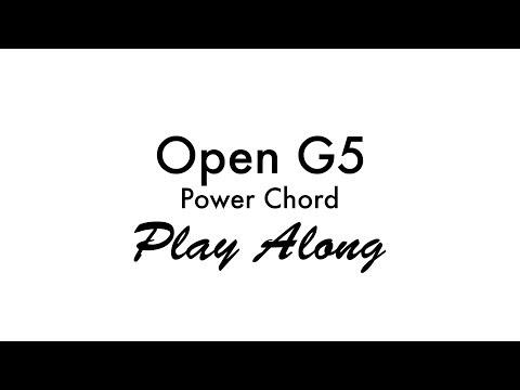 Open G5 Power Chord G5 Piano Chord Chart