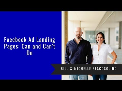 Facebook Ad Landing Pages: Can and Can't Do