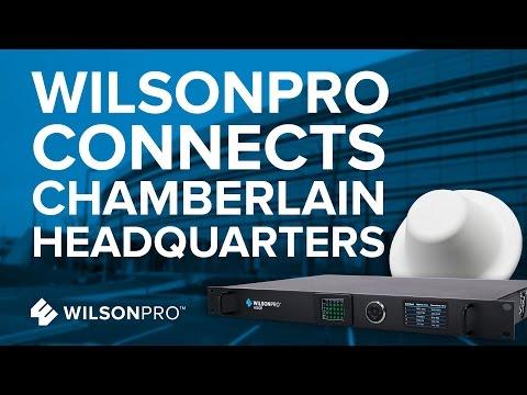 WilsonPro Connects Chamberlain Headquarters | WilsonPro