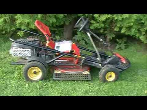Go Cart Lawn Mower by Yard Works