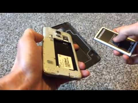 Samsung Galaxy S5- Battery Removal How-To