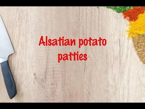 How to cook - Alsatian potato patties