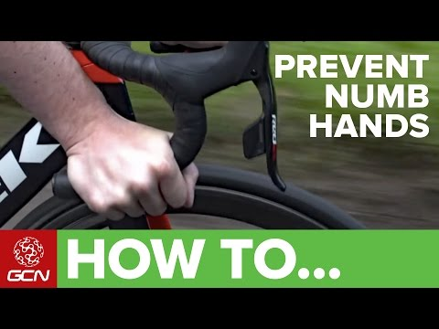 How To Prevent Numbness Or Pain In Your Hands Whilst Cycling
