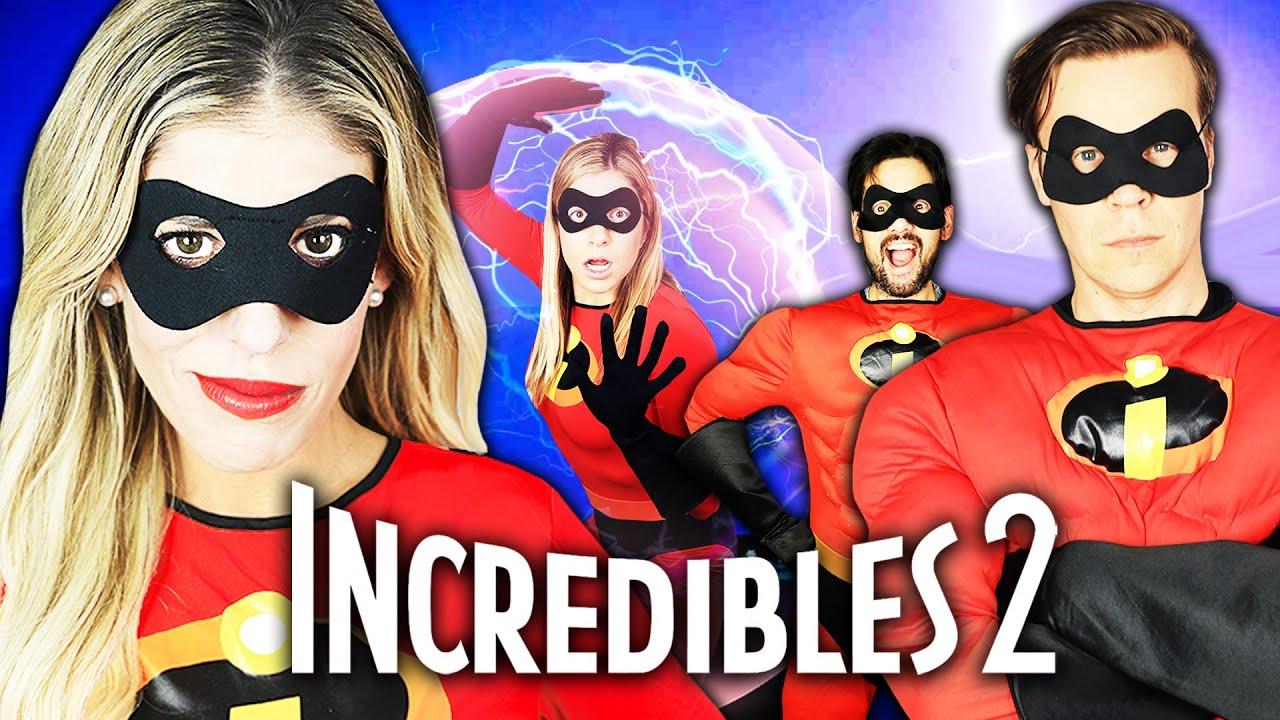 Giant Incredibles in Real Life Again! | Rebecca Zamolo