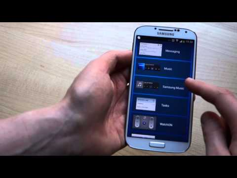 How to get lock screen widgets on the Samsung Galaxy S4