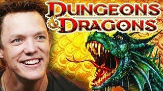 DUNGEONS & DRAGONS With Matthew Lillard, Matthew Mercer & Sam Witwer!