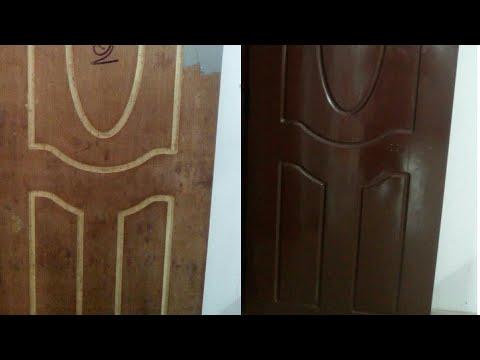 New Look to your Old Door || only 3 steps || Door painting made easy