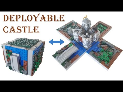 Lego Castle MOC | Deployable and Travel Size