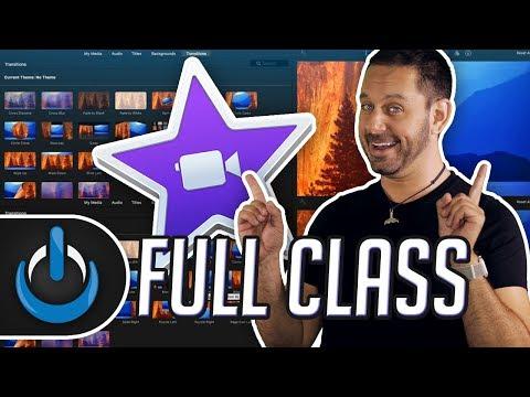 iMovie 2018 FULL CLASS!!!