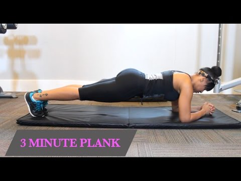 3 MINUTE PLANK WORKOUT FOR THE ABS PART 1