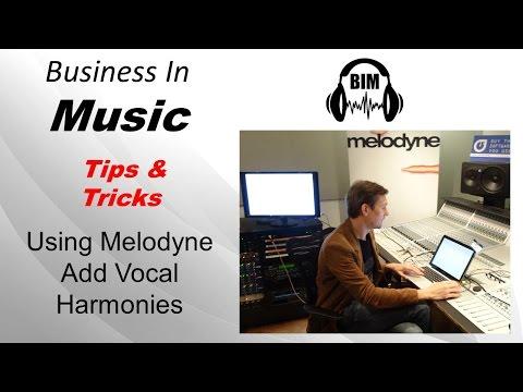 Using Melodyne To Add Vocal Harmonies