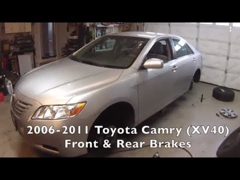 Front/Rear Brakes -Toyota Camry 2006-2011