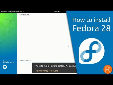 How to install Fedora 28