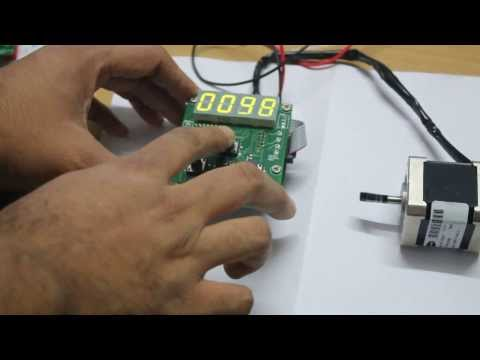 Stepper Motor Speed Controller & 3A Microstepping Driver