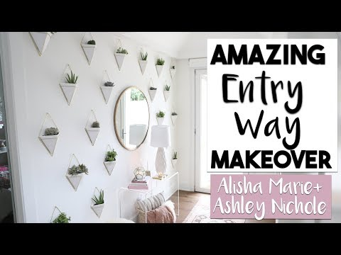 INTERIOR DESIGN | Breathtaking Entry Way Transformation Ashley + Alisha Marie