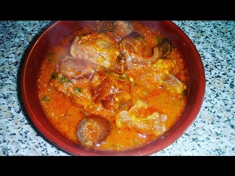 NIGERIAN BEEF AND KPOMO STEW