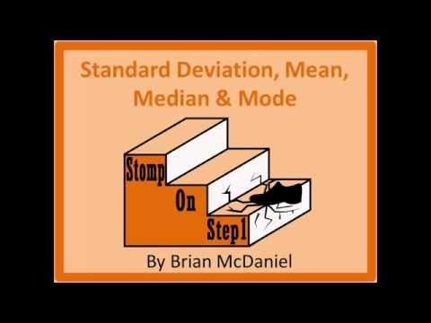 Mean, Median & Mode Robustness, Standard Deviation, Skewed Right Positive Skew Skewed left